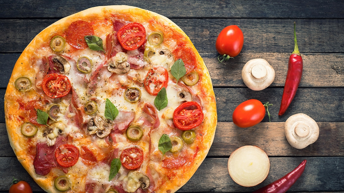 Pizza Leivinjauhe
